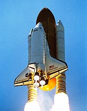 Independence Day Discovery Shuttle Launch Photo Print for Sale