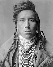 Indian Bird On High Land Edward S Curtis Photo Print for Sale