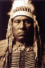 Indian Ow High Edward S. Curtis Portrait Photo Print for Sale