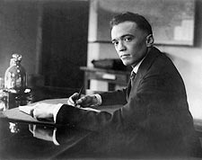 J. Edgar Hoover Early Portrait at Desk Photo Print for Sale