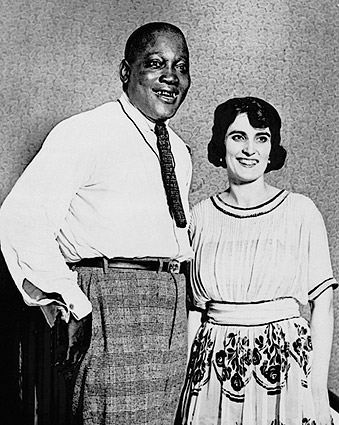 Jack Johnson and Wife Lucille Cameron 1922 Photo Print