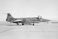 JF-104A Starfighter on Runway F-104 Photo Print for Sale