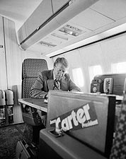 Jimmy Carter & Campaign Airplane Peanut One Photo Print for Sale