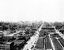 Kansas City, Missouri Business District 1915 Photo Print for Sale