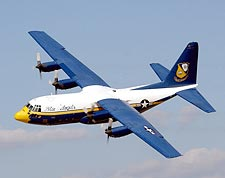 US Navy Blue Angels Fat Albert C-130 Photo Print for Sale