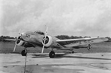 Lockheed C-40 Aircraft WWII Photo Print for Sale