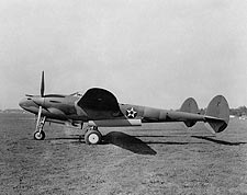 WWII Aircraft Lockheed P-38 Lightning  Photo Print for Sale
