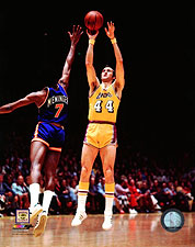Los Angeles Lakers Basketball Jerry West Photo Print For Sale