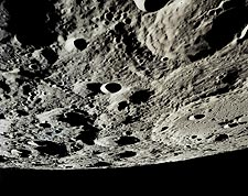 Lunar Craters from NASA Apollo 15 Mission Photo Print for Sale