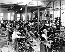 Machine Shop Government Printing Office Photo Print for Sale