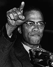 Malcolm X Gesturing During Harlem Rally 1963 Photo Print for Sale