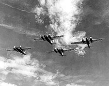Martin B-12 Bomber Formation Photo Print for Sale