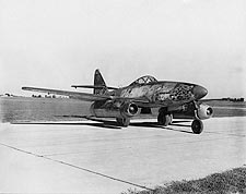 Messerschmitt Me-262 WWII Jet Aircraft Photo Print for Sale
