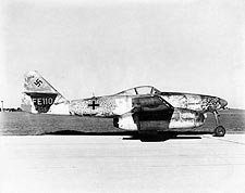Messerschmitt Me-262 WWII  Photo Print for Sale