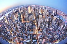 Midtown Manhattan Aerial View NYC Photo Print for Sale