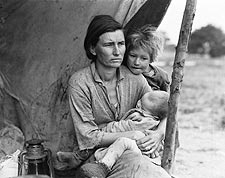 Migrant Mother Series by Dorothea Lange Photo Print for Sale