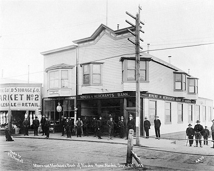 Miners and Merchants Bank Nome Alaska 1905 Photo Print
