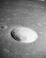 Moon Surface Crater Messier B Apollo 10 Photo Print for Sale