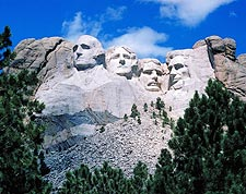 Mount Rushmore Memorial in South Dakota Photo Print for Sale
