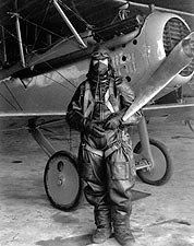 NACA Test Pilot Paul King with Vought VE-7 in 1925 Photo Print for Sale
