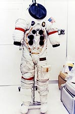 NASA Apollo 13 Jim Lovell Space Suit Photo Print for Sale