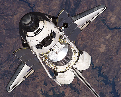 if an astronaut in an orbiting space shuttle wished - photo #21