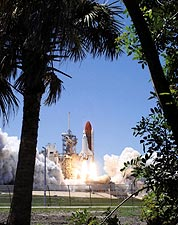 NASA STS-121 Discovery Launch Pad 39-B Photo Print for Sale