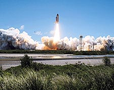 NASA STS-121 Discovery Lift Off Ignition Photo Print for Sale