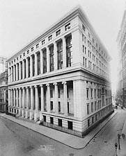 National City Bank, New York City 1909 Photo Print for Sale