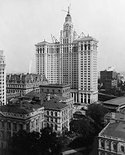 New Municipal Building 1912 New York City Photo Print for Sale