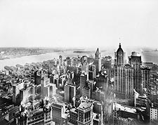 New York City Aerial View 1913 Irving Underhill Photo Print for Sale