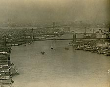 New York City East River 1920 Photo Print for Sale