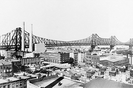 New York City Queensboro Bridge 1908 Photo Print