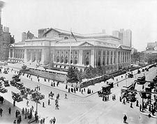 New York Public Library 1914 New York City Photo Print for Sale