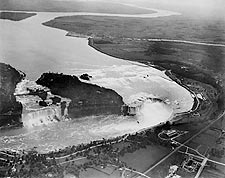 Niagara Falls Aerial View New York 1922 Photo Print for Sale