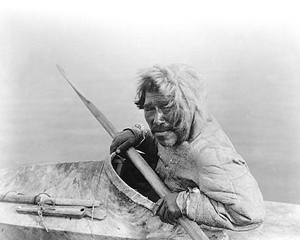 Noatak Seal Hunter Edward S. Curtis Portrait Photo Print