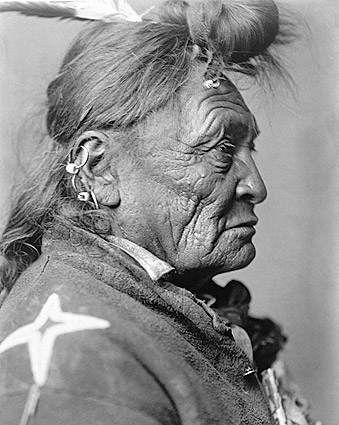 North American Indian Edward S. Curtis 1908 Photo Print
