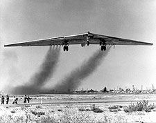 Northrop YB-49 Flying Wing Takeoff Photo Print for Sale