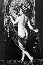 Nude French Dancer Ador�e Villany Photo Print for Sale