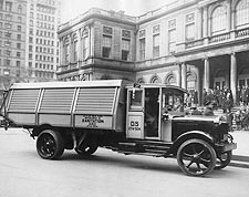 NYC Department of Sanitation Truck 1930s Photo Print for Sale