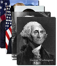 Official Presidential Photos w/ Names Complete Set Photo Prints For Sale