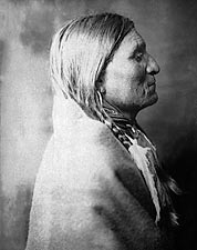 Old Geronimo Catcher Edward S. Curtis Photo Print for Sale