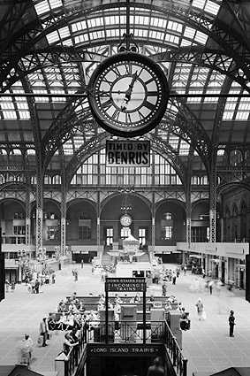 Old Penn Station Interior, New York City Photo Print