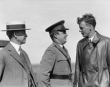 Orville Wright & Charles Lindbergh 1927 Photo Print for Sale