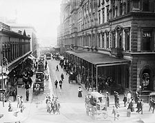 Pedestrians Outside Grand Central Station NYC 1910 Photo Print for Sale