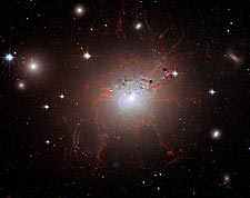 Perseus A Galaxy Cluster Hubble Space Telescope Photo Print for Sale