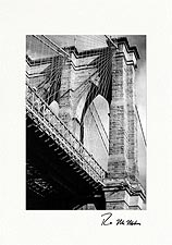 Personalized Brooklyn Bridge, New York City Photo Greeting Cards