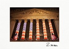 Personalized New York Stock Exchange NYC Christmas Cards
