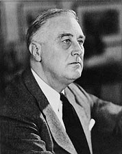 Portrait of Franklin D Roosevelt 1946 Photo Print for Sale