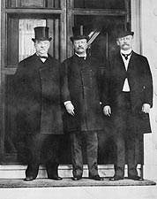 Pres. Grover Cleveland & Teddy Roosevelt Photo Print for Sale